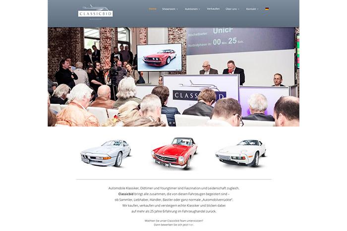 Classicbid-Website